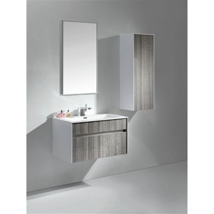grey bathroom sink cabinets. Kube Bath KubeBath Fitto 32 inch Ash Grey Single Sink Bathroom Vanity  High Gloss Best 25 Floating bathroom vanities ideas on Pinterest Large