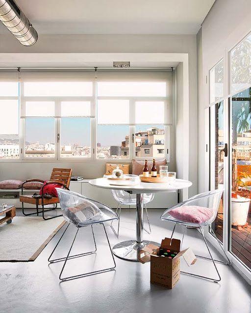 INSPIRÁCIÓK.HU Kreatív lakberendezési blog, dekoráció ötletek, lakberendező tanácsok: Szép házak, szép otthonok sorozat - egy nyaraló Barcelonából