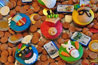Sinterklaas cupcakes