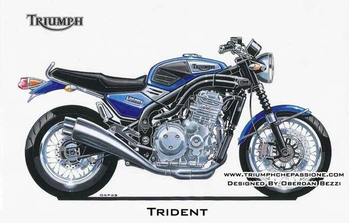 Prototipi e Studi di Design, la Trident