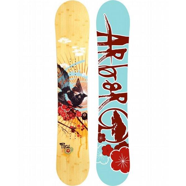 Love the Orange/Yellow Arbor Women's Snow Board