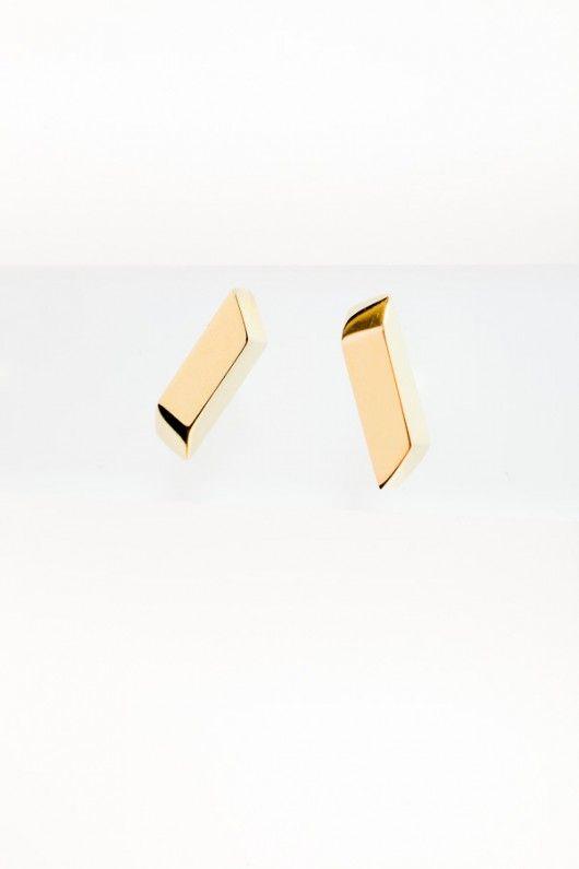 kolczyki z kolekcji EDGY/ Royal/mikron