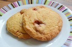 Banana Angel Delight cookies