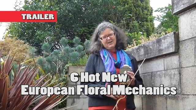 The champion European Florists all met at the Europa Cup 2016 and presented stunning exhibition designs. Tricia Legg will show you how to take 6 of their innovative construction methods to create beautiful floral gifts for your flower shop or friends.