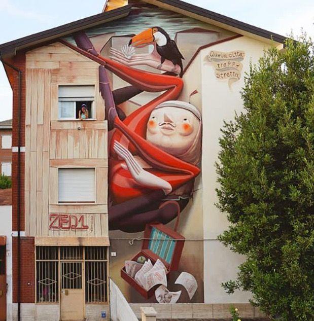 by Zed in Carpi, Italy, 7/17 (LP)