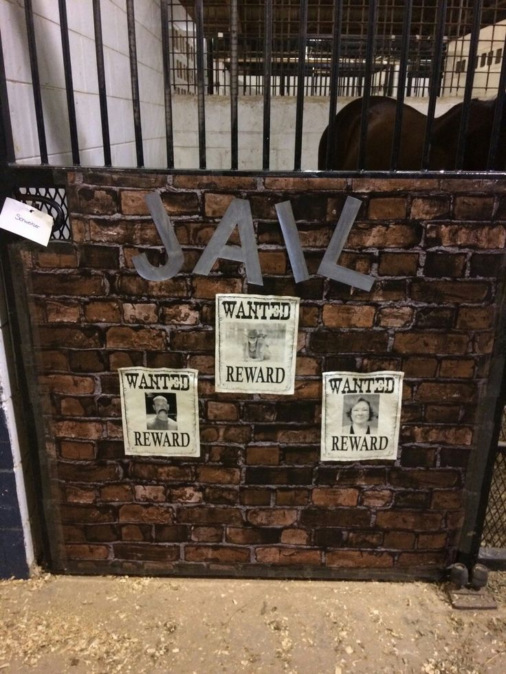 Stall #3 Wild West Theme With help from Luann Bridges