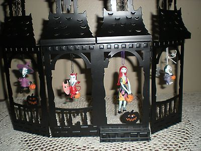hallmark halloween ghostly gazebo house 2008 with halloween town tricksters orna - Hallmark Halloween Decorations