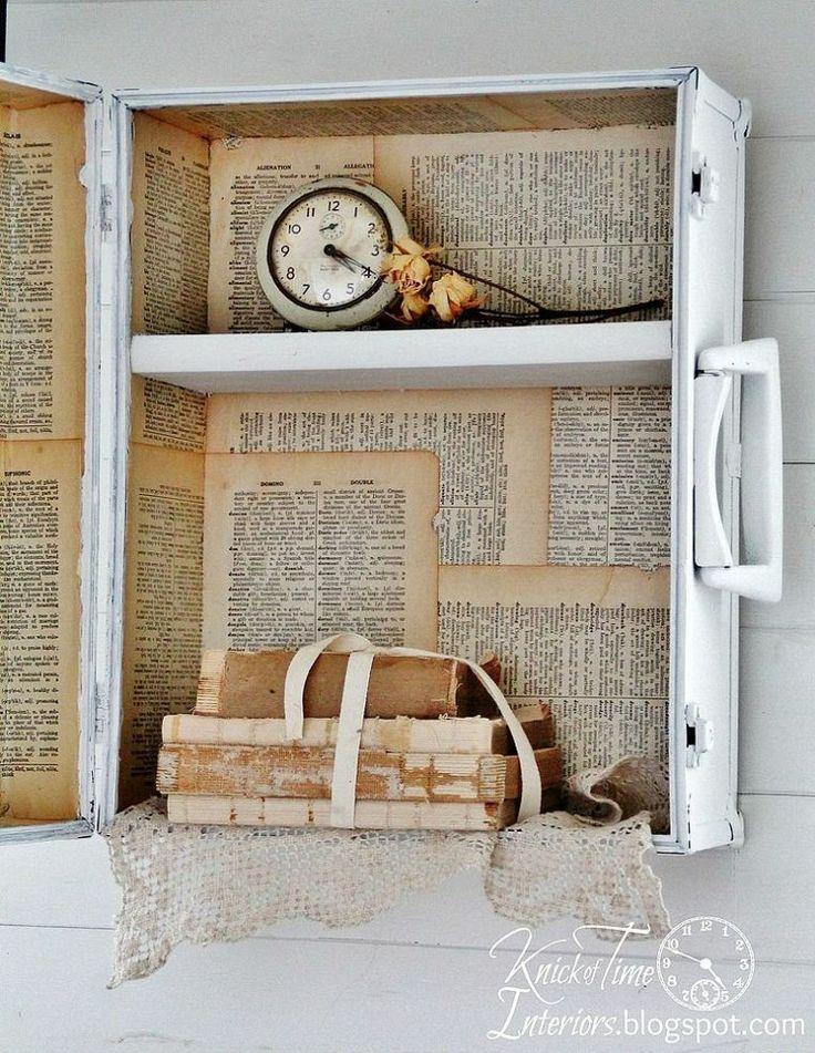 Hometalk :: Repurposed Trunk Into Wall Cabinet