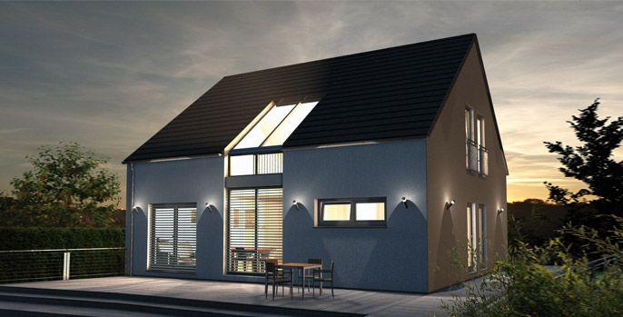 ber ideen zu kfw haus auf pinterest musterhaus. Black Bedroom Furniture Sets. Home Design Ideas