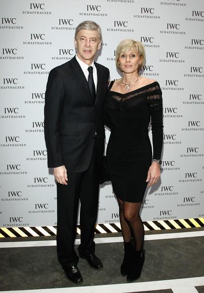 Arsene Wenger and Annie Wenger