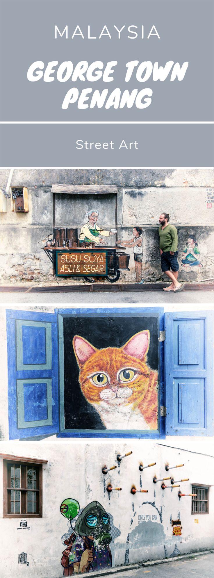 George Town Street Art – Penang, Malaysia
