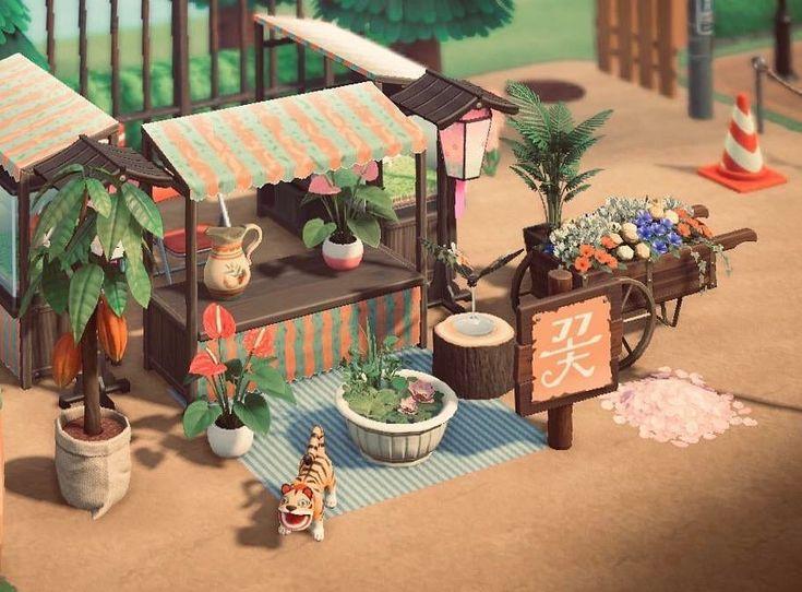 """Animal Crossing Inspiration on Instagram: """"Small Garden ..."""