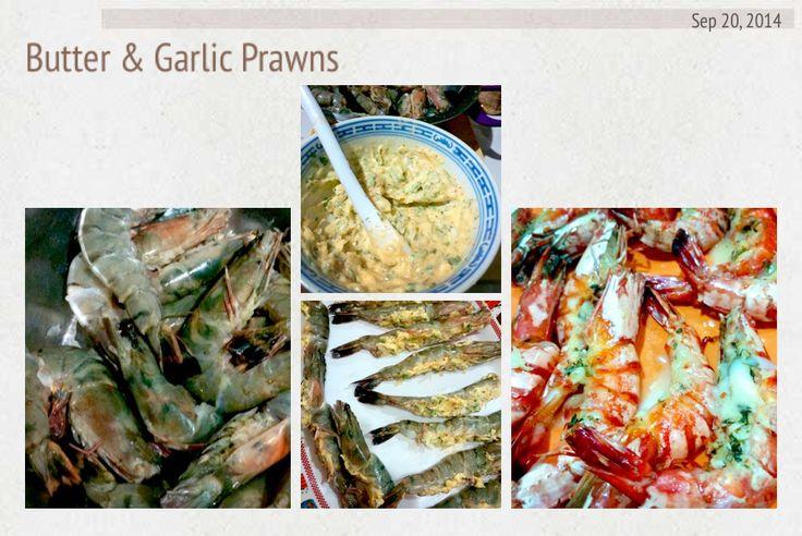 Butter & Garlic Prawns  #homemade #yuumm