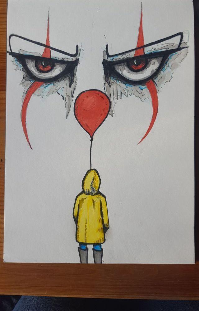 Horrorart Horror Art It Disney Art Drawings Art Sketches Scary Drawings