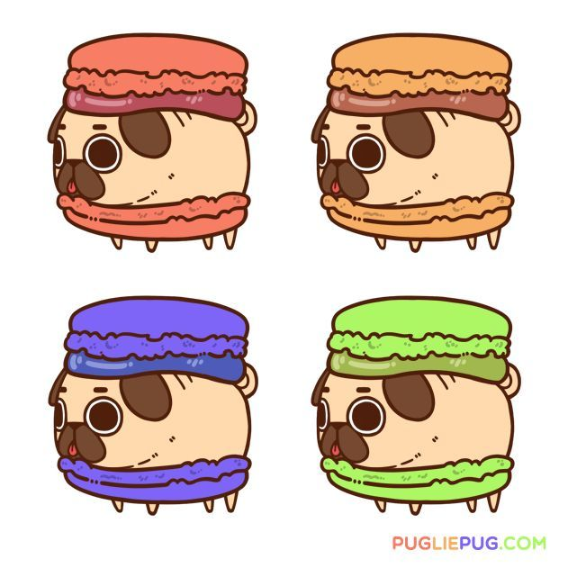 252 Best Pug Art Images On Pinterest Pug Art Pug Dogs