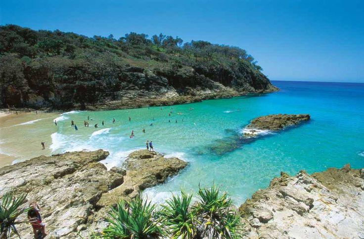 The Seven Best Camping Sites Near Brisbane |   Stradbroke Island via ConcretePlayground