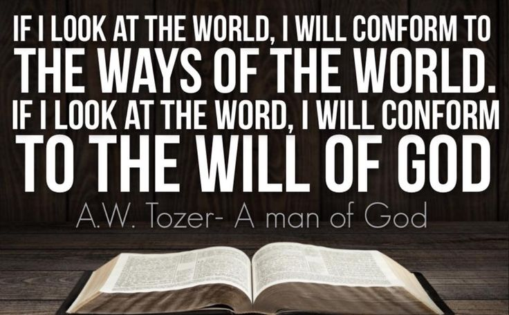 A.W. Tozer – Knowledge of the Holy (Chapter 16) The ...
