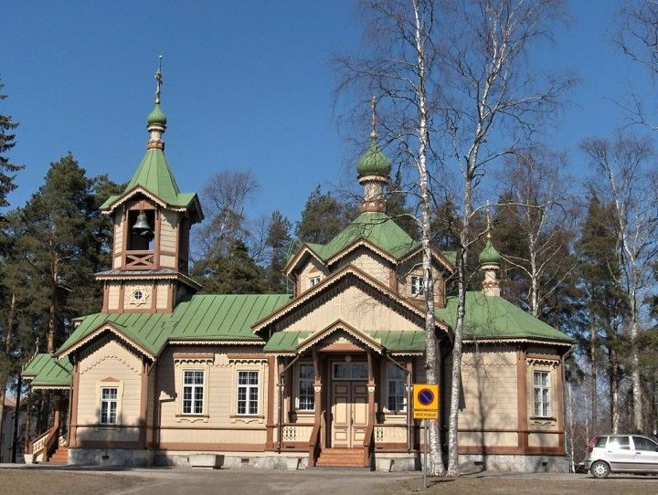 Orthodox Church, Kirkkokatu, Joensuu, Finland - Tourist attractions in Finland