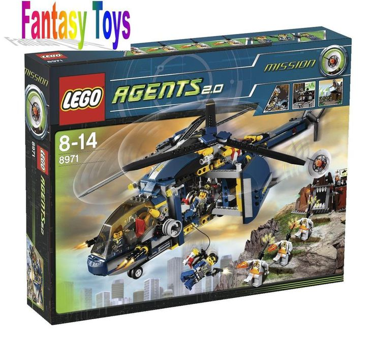 LEGO 8971 AGENT 2.0 RARISSIMO