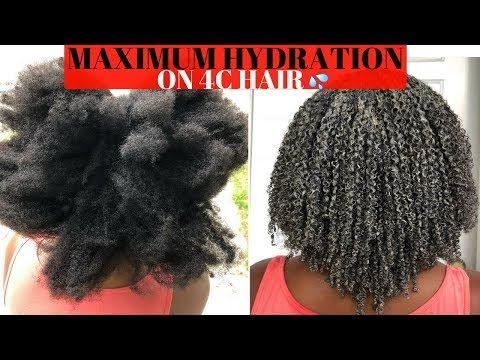 Healthy Journey Series | Maximum Hydration Method on Type 4 Hair – YouTube