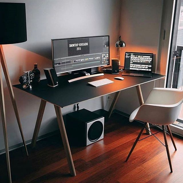 Beautiful Computer Desk best 25+ desk setup ideas on pinterest | office desk accessories