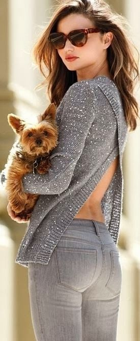 Cute outfit and cutie puppy:)