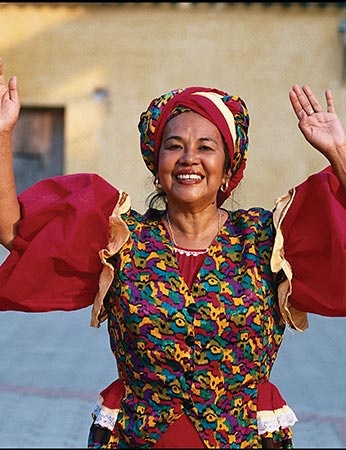Toto La Momposina from the Carribean Coast of Colombia is worldwide the most famous Colombian folk singer. Her songs are of different kind of rythms like rumba, guaracha, cumbia or bullerenge and include a wide range of instruments. Listening to her means feeling the spirit of Colombia! #palenquetourscolombia #travelandmakeadifference #people #famous #singer #music #colombia
