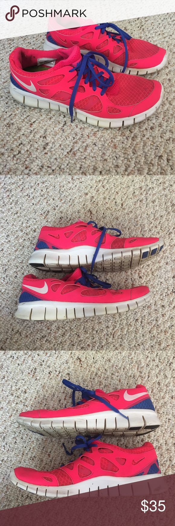 Pink Nike Shoes Pink nikes. Size 11 Nike Shoes Sneakers