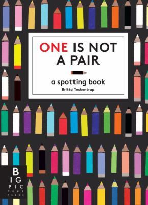 Each patterned page contains a set of pairs . . . but one thing does not match any of the others. Can you find it?