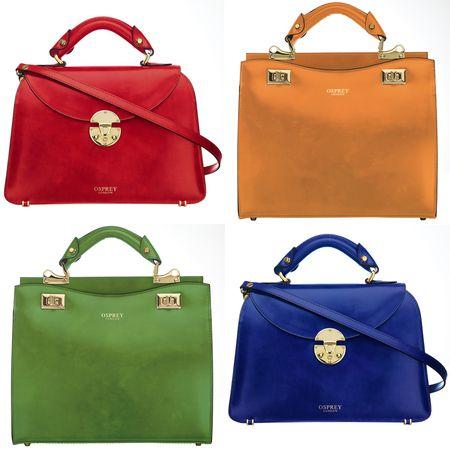 Osprey London Limited Edition Riva Handbag Collection