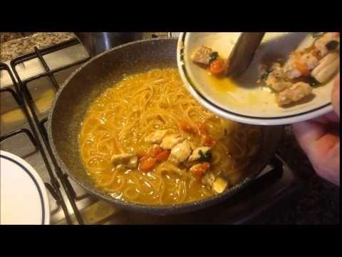 Linguine col sugo di gallinelle - YouTube