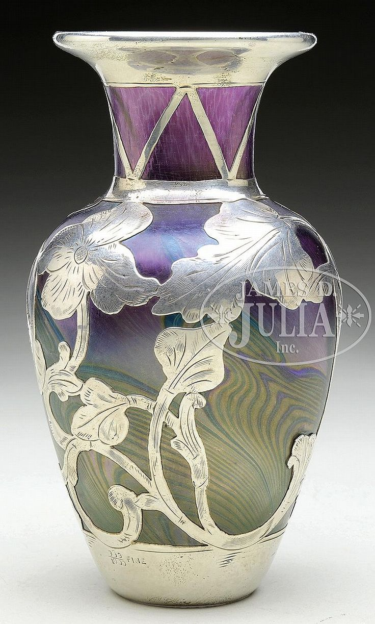 317 best deco art loetz images on pinterest art nouveau glass loetz silver overlay vase reviewsmspy