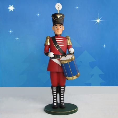 39 best nutcrackers toy soldiers images on pinterest for 4 foot nutcracker decoration