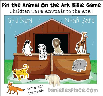 noahs ark games for youth groups