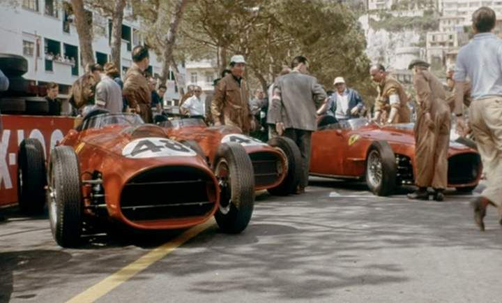 ferrari monaco 1959 racing cars pinterest cars the o 39 jays and radiators. Black Bedroom Furniture Sets. Home Design Ideas