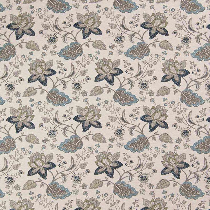 Warwick Fabrics : EVELYN, Colour DENIM