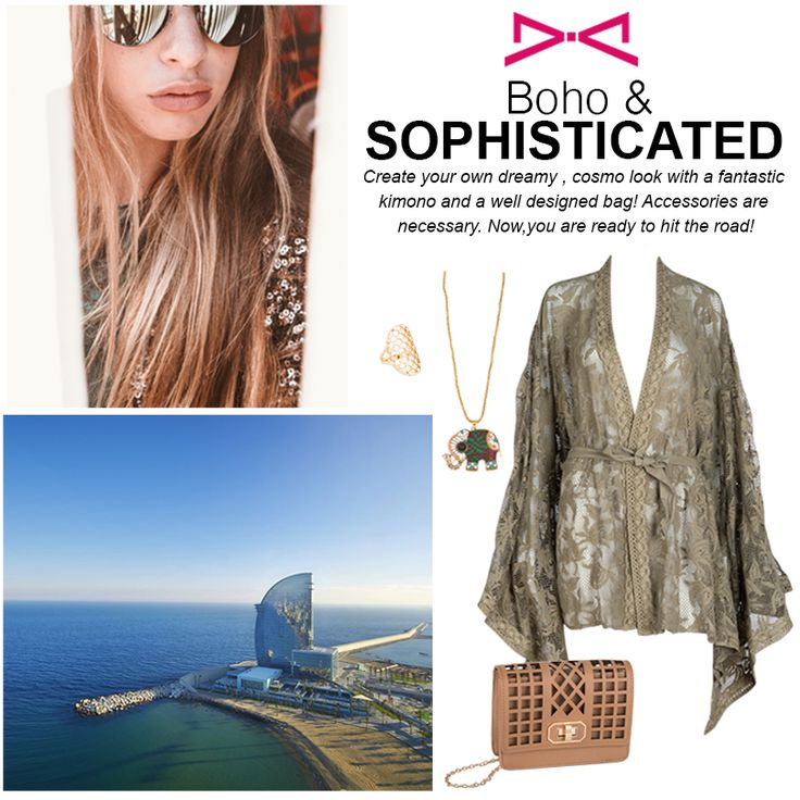 Can you combine boho with sophisticated? Check this out! #achilleas_accessories