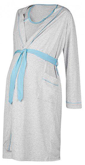 Happy Mama Women's Maternity Hospital Gown Robe Nightie Set Labour & Birth. 767p: Amazon.co.uk: Clothing