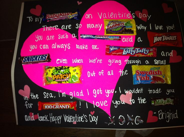 valentine day candy grams