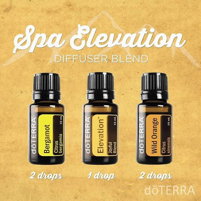 Feel like you are in a high-end spa with this chicly citrus diffuser blend. #doterradiffuserrecipes #elevation #spa #essentialoils #doterra
