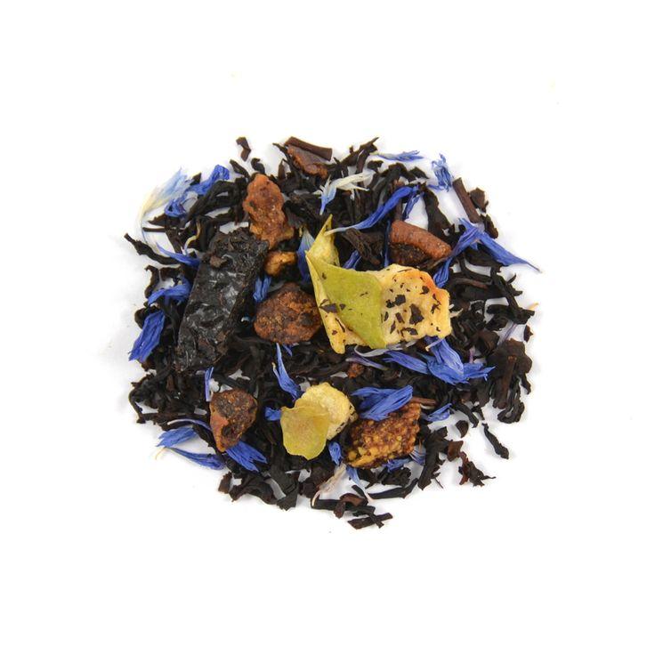 Een volle fruitige melange van de smaak van peer, pruim en appel in perfecte combinatie met verfijnde smaak van Ceylon thee.
