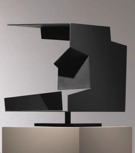 Jorge Oteiza, Caja vacía, 1958.Yeso, madera, alambre, acero y esmalte Medidas: 52 x 43,9 x 43 cm on ArtStack #jorge-oteiza #art