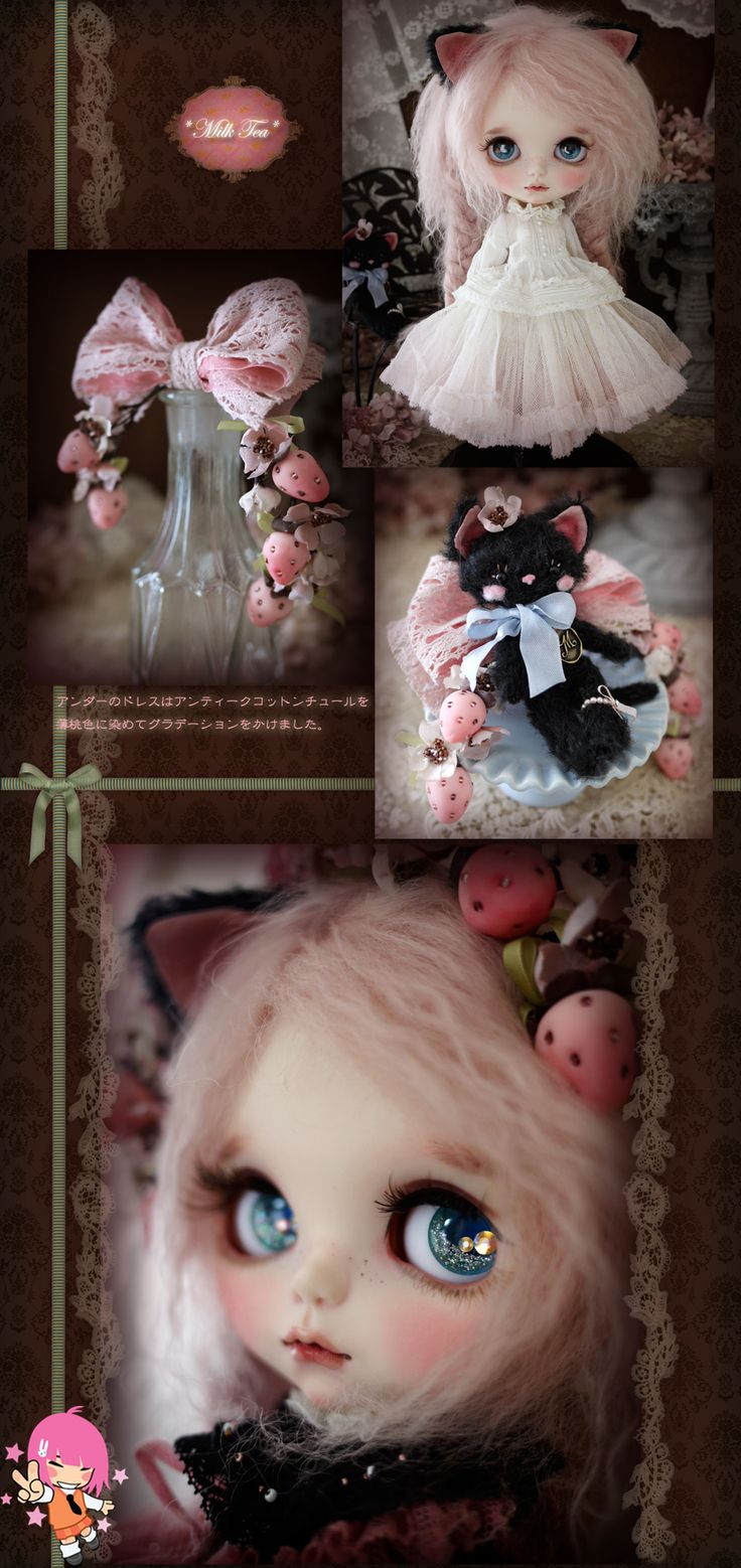 Custom Blythe Dolls: Milk Tea's Himeichigo - A Rinkya Blog