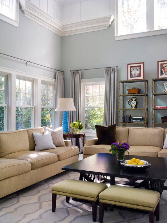 Gold and gray blue living rooms pinterest