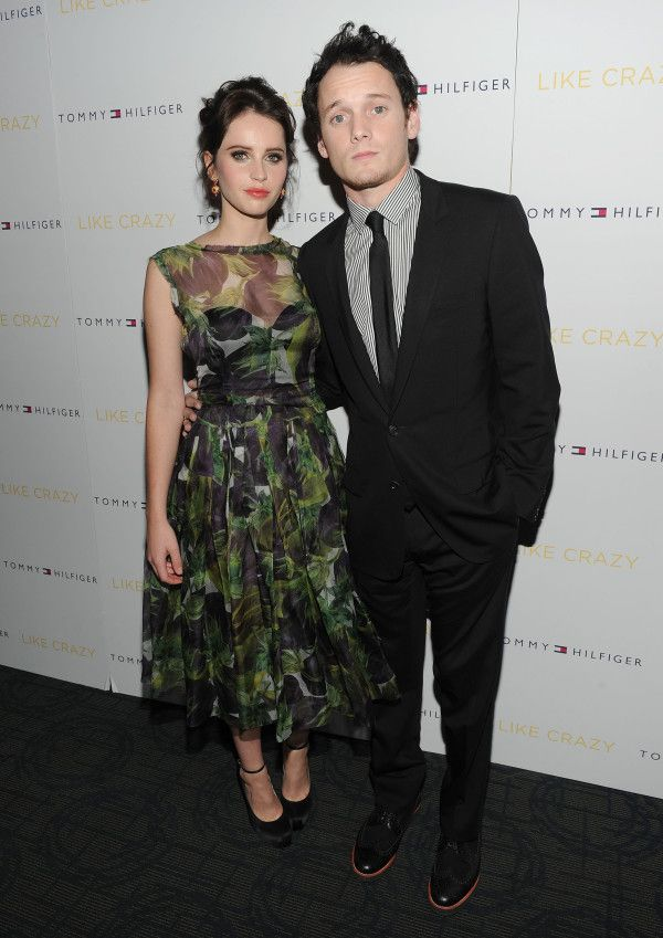 """Like Crazy"" Felicity Jones and Anton Yelchin are adorable in this pic"