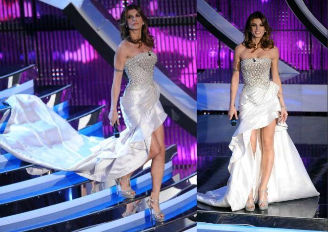 Sanremo 2012 Elisabetta Canalis, Versace