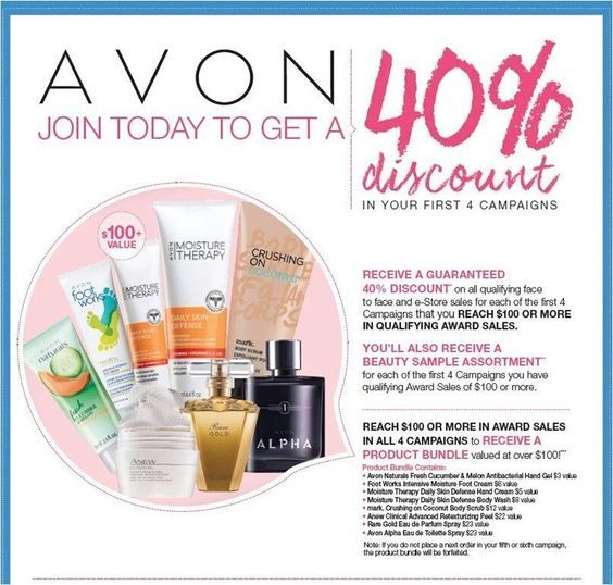 JOIN today and get 40% discount on all the Avon products you order. Sign up to sell Avon online today with me at startavon.com use reference code: MY1724 #AVON   #SELLAVON #COLLEGESTUDENT #JOBSONLINE #REFERENCECODE #MOMPRENEUR #ENTREPRENEUR #MAKEMONEY
