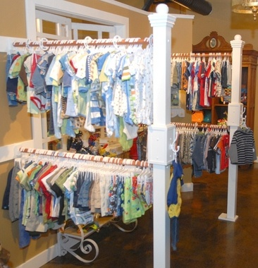 Cool way to hang clothes