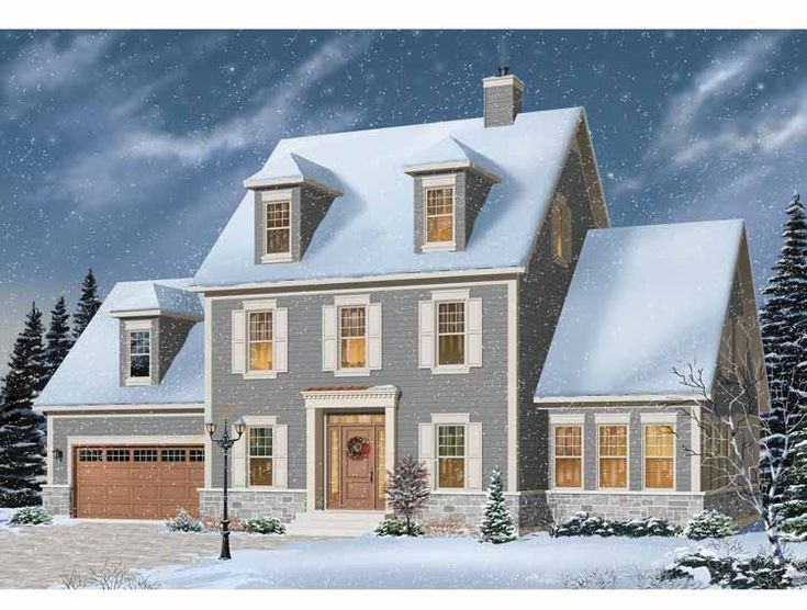 128 migliori immagini dream house plans su pinterest ForPiani Di Casa Di Campagna 1500 Sq Ft
