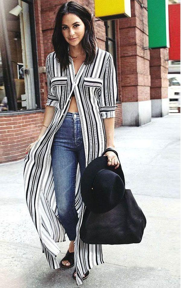 2. Investem em truques de styling pra não enjoar das roupas de sempre. A camisa vestido pode virar uma blusa, a saia midi pode virar vestido, o maxi blazer pode virar um micro dress super sexy!